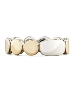 John Hardy Dot Gold & Silver Band Ring, 5mm