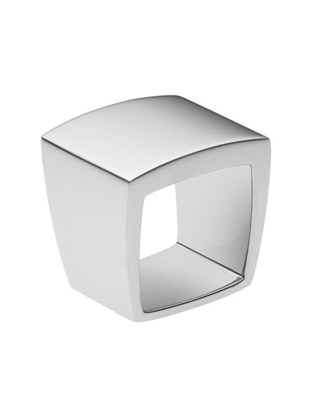 Signet Ring, Silver Color