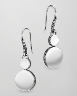 John Hardy Dot Silver Double-Drop Earrings