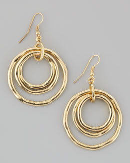 Panacea Multi-Hoop Circle Earrings