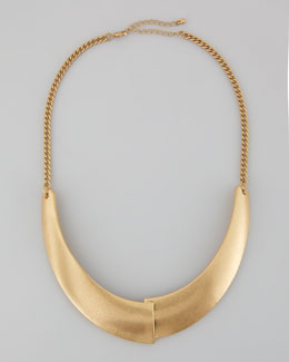 Panacea Overlap-Plate Collar Necklace