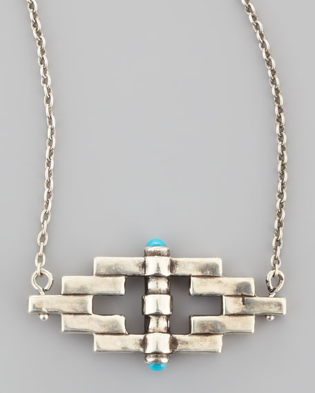 Small Reflection Pendant Necklace