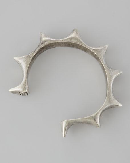 Sun Cuff, Silver-Plate