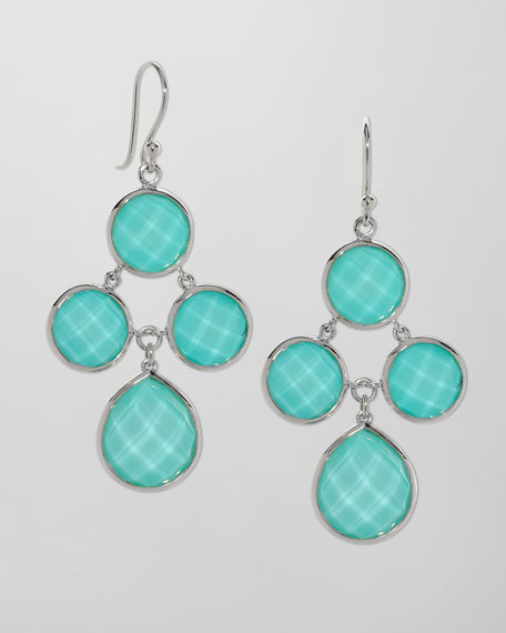 Audrey Turquoise Chandelier Earrings