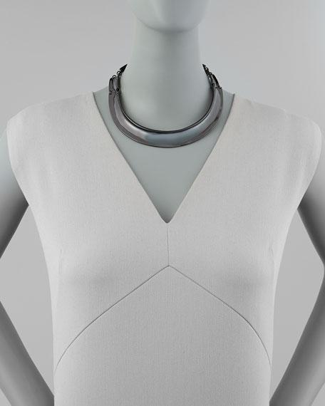 Hematite Collar Necklace