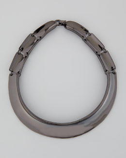 Robert Lee Morris Hematite Collar Necklace