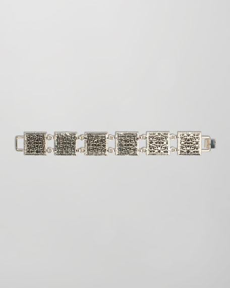 Electra Faceted Bracelet, Black
