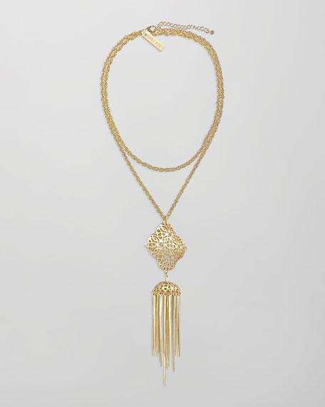 Miranda Tassel Pendant Necklace