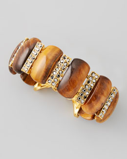 Jose & Maria Barrera Tiger's Eye Bracelet