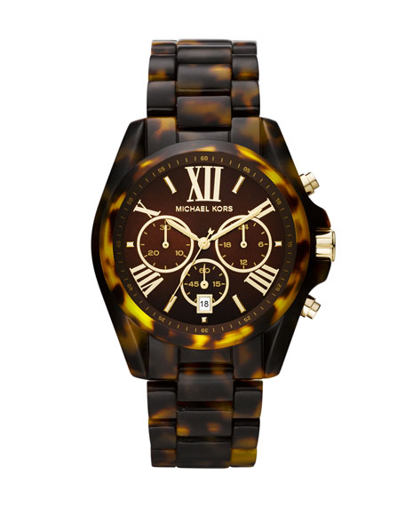 Mid-Size Sand Acetate Bradshaw Chronograph Watch