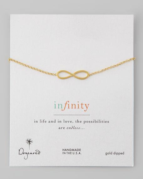 Large Classic Infinity Bracelet