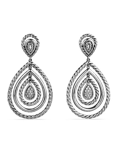 David Yurman Mobile Drop Earrings with Diamonds