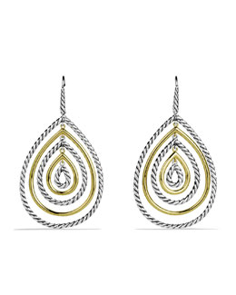 David Yurman Mobile Drop Earrings with Gold