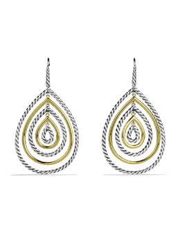 David Yurman Mobile Drop Earrings with Gold
