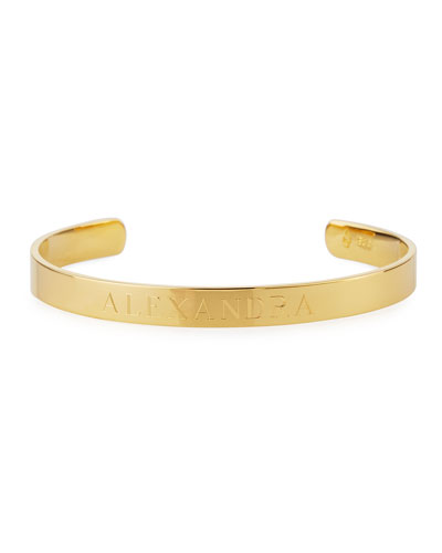 Ciela Personalized ID Bracelet, Gold