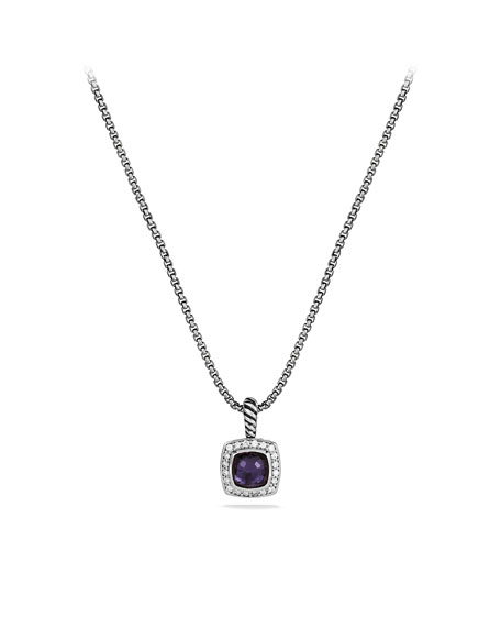 David YurmanPetite Albion Pendant with Black Orchid and