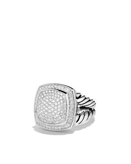 14MM PAVE ALBION RING