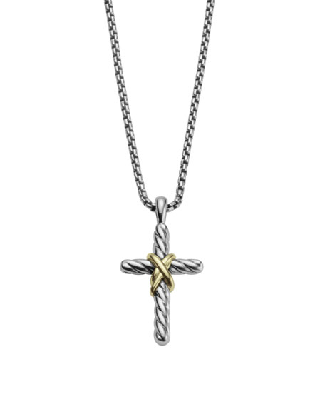 Cross with Gold on Chain