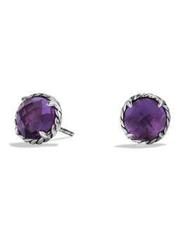 David Yurman Chatelaine Earrings with Amethyst