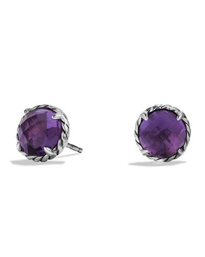 David Yurman Chatelaine Earrings with Amethyst