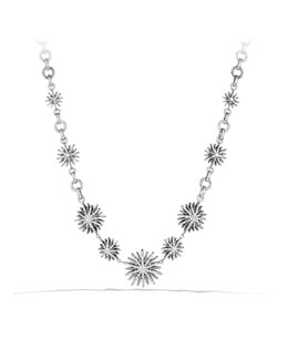 David Yurman Starburst Link Necklace with Diamonds