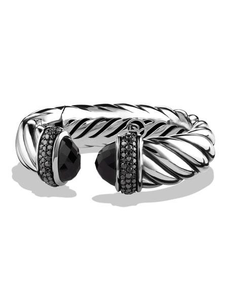 David Yurman Waverly Bracelet with Black Onyx and