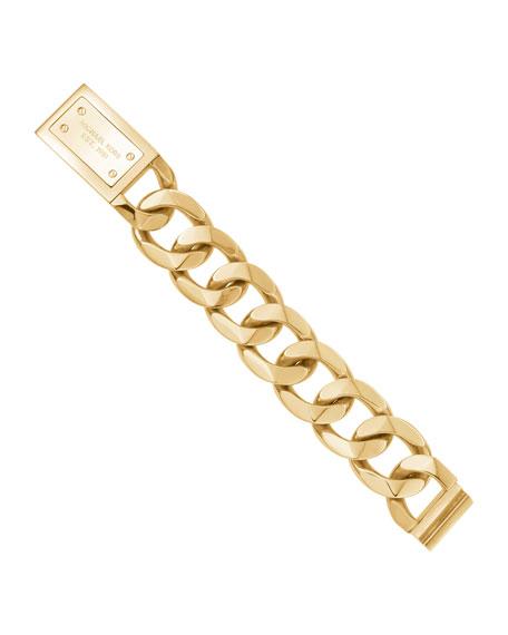 Chain-Link Bracelet, Golden