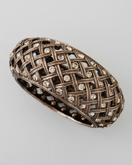 Jose & Maria Barrera Crystal-Encrusted Lattice Bracelet