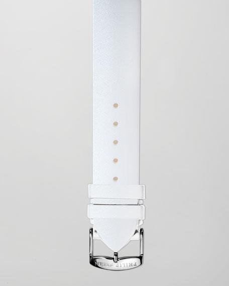 18mm Silicone Strap, White