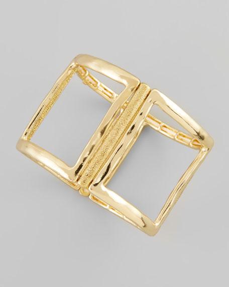 Open Square Stretch Bracelet