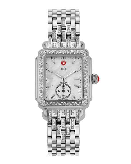 MICHELE 16mm Tapered-Diamond Watch Bracelet