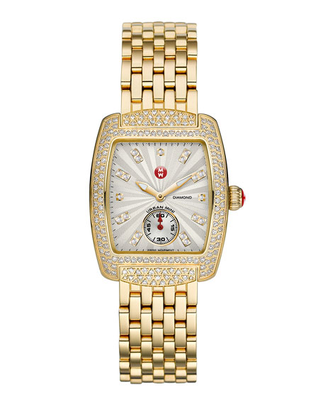 Urban Mini Diamond Watch Head, Gold