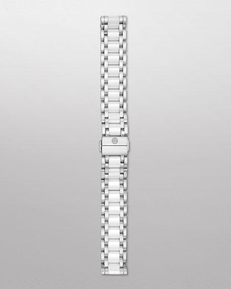 Deco Stainless Steel & Ceramic Watch Bracelet
