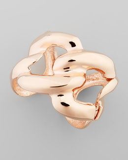 Kenneth Jay Lane Rose Golden Chain Link Cuff