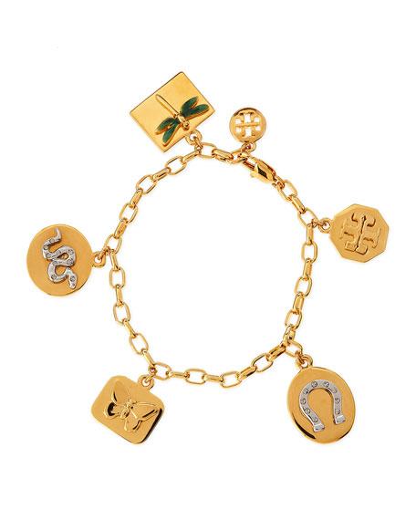 Sylbie Multi-Charm Bracelet