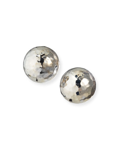 Ippolita Sterling Silver Glamazon Pinball Clip-On Earrings
