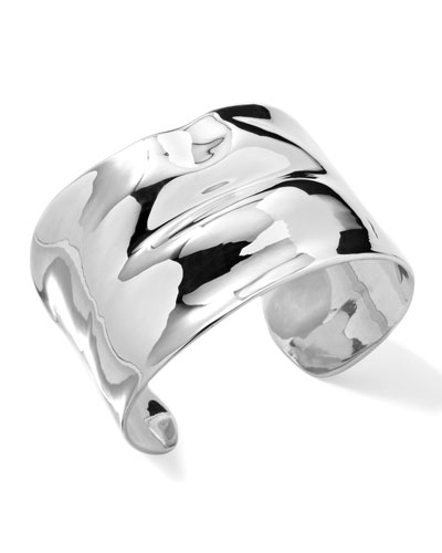 Ippolita Sterling Silver Scultura Lips Cuff Bracelet