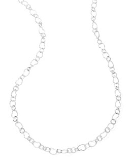 Ippolita Classic Sterling Silver Layer Chain Necklace 41.5""