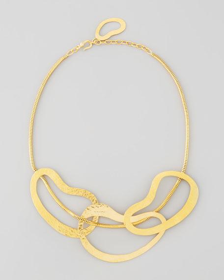 Vibrations 3-Ring Bib Necklace