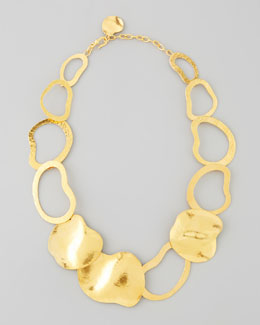 Herve Van Der Straeten Vibrations Gold-Plate Open-Link Necklace