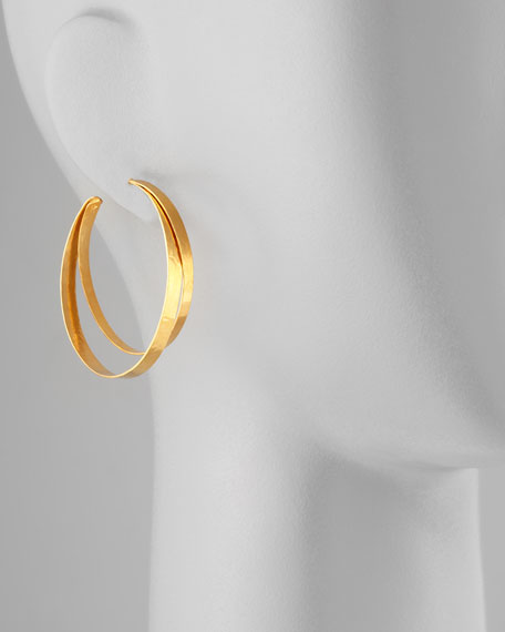 RUBAN SMALL HOOP EARRING