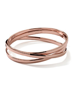 Ippolita Rose Vela Cosmos 3-Band Bangle