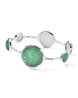 Ippolita Sterling Silver Wonderland Lollipop Bangle in Mint