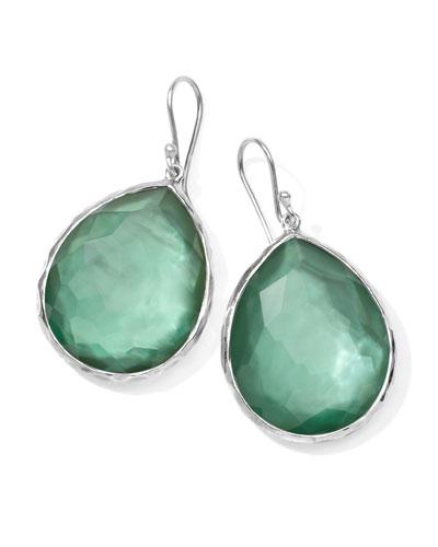 Ippolita Sterling Silver Wonderland Teardrop Earrings in Mint