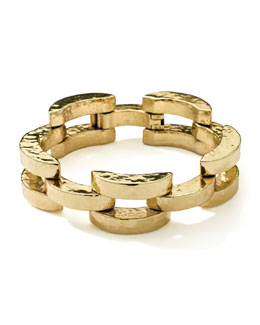 Ippolita 18K Gold Glamazon Smooth Arch Bracelet