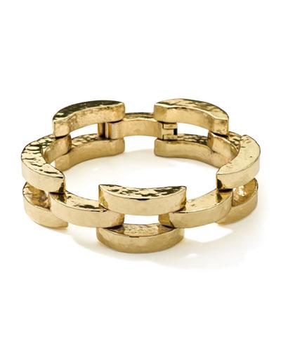 Ippolita 18K Gold Glamazon Smooth Arch Bracelet