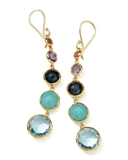 Ippolita 18k Gold Rock Candy Lollitini Earrings in Multi