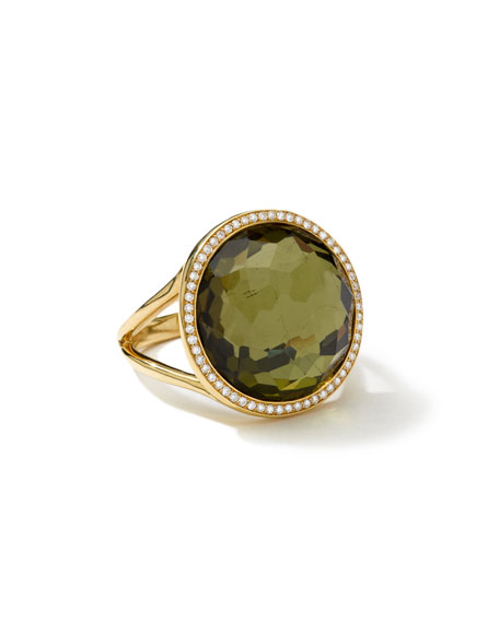 Ippolita 18k Rock Candy Mini Lollipop Ring in