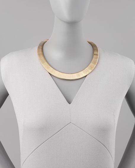 Yellow Golden Choker Necklace