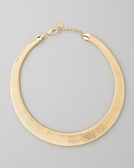Yellow Golden Choker Necklace